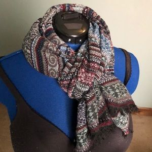 Other - Multi colored scarf